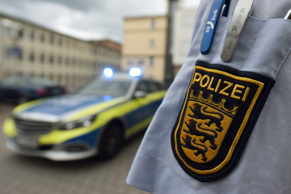 Polzeiwappen Baden-Württembergs