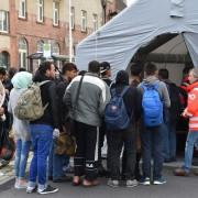 Asylbewerber in Eisenhüttenstadt: IS-Kämpfer wollten nach Deutschland Foto:  picture alliance / dpa