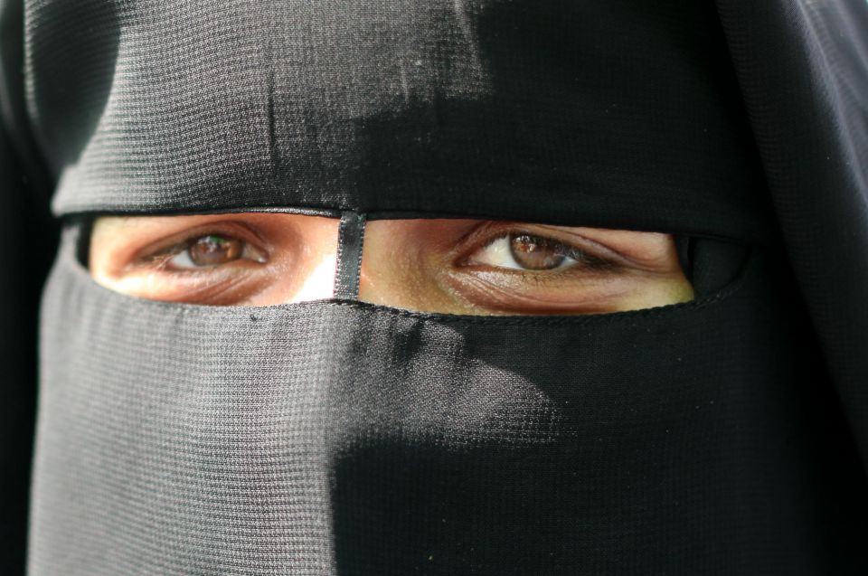 Niqab  (Symbolfoto)