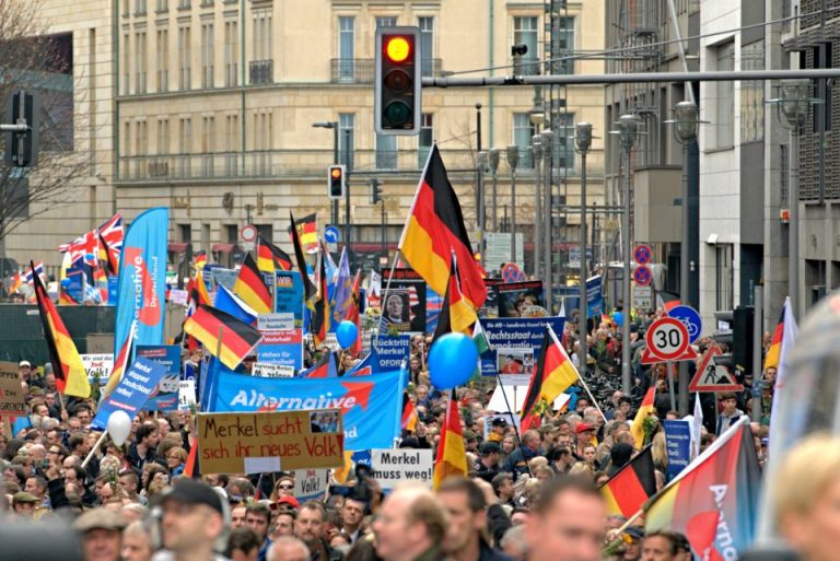AfD-Demonstration in Berlin