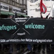 Anti-AfD-Demonstration in Berlin: DGB und linksextreme Szene rufen zu Kundgebungen auf Foto:  picture alliance/Geisler-Fotopress