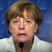 Bundeskanzlerin Angela Merkel präsentiert am 16.11.2015 die Verhandlungsergebnisse vom G20-Treffen in der Türkei Foto:  picture alliance / dpa