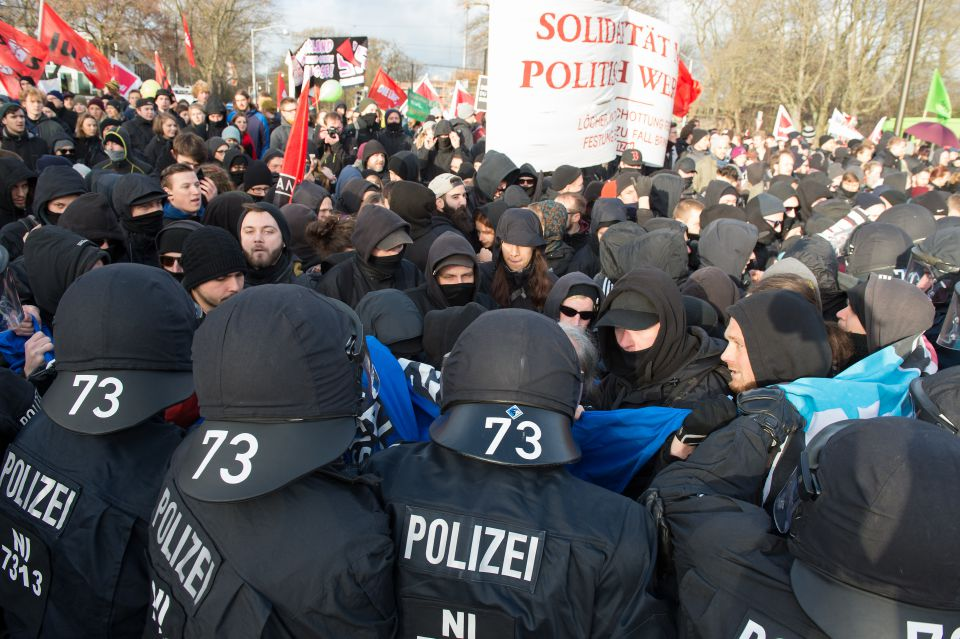 Anti-AfD-Demonstration in Hannover