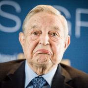George Soros: Verspricht Ukraine Milliarden Foto:  picture alliance/Wiktor Dabkowski