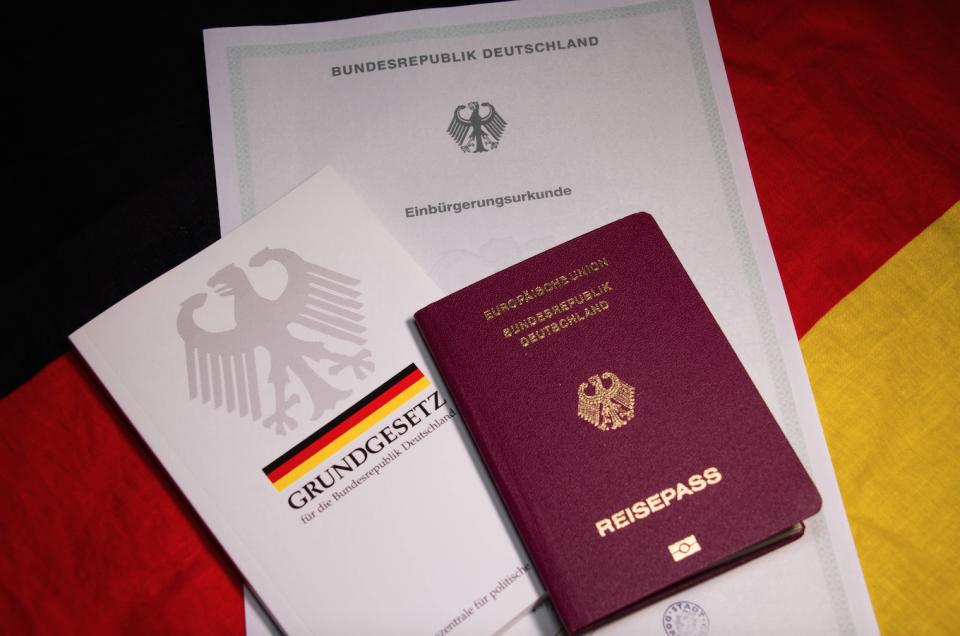 Reisepaß und Grundgesetz