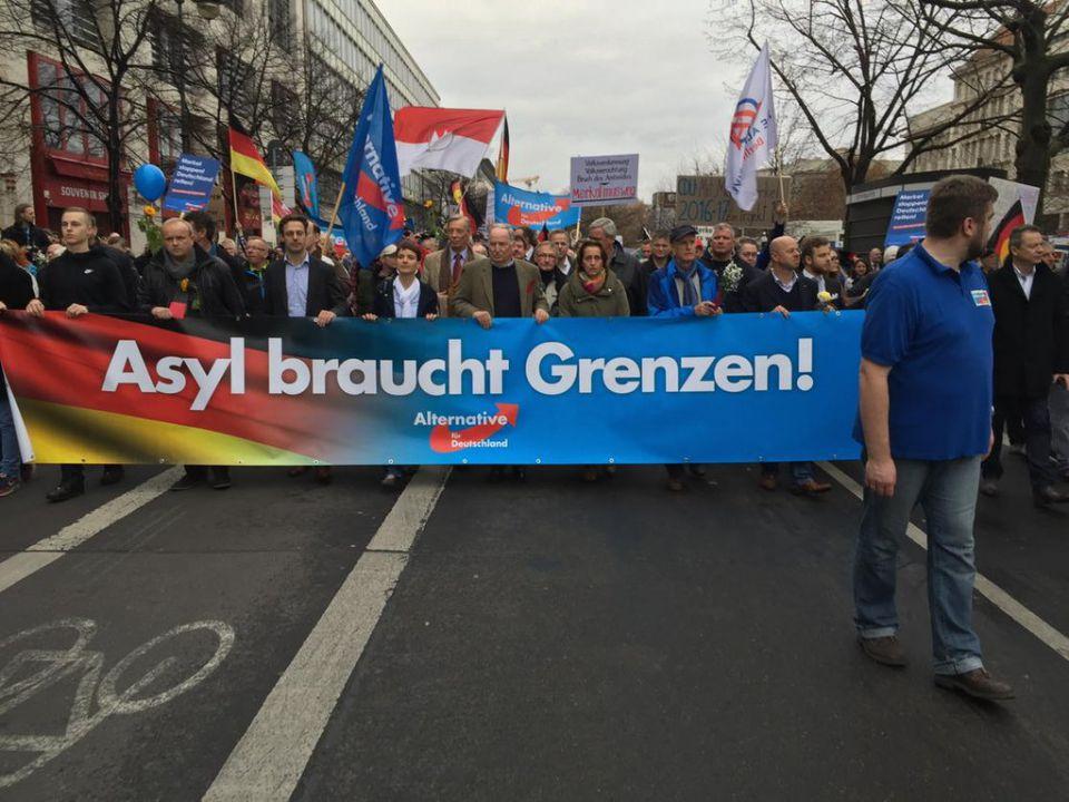 AfD-Demo in Berlin