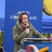 Beatrix von Storch in Berlin: Streit um GEZ-Gebühren Foto: rg