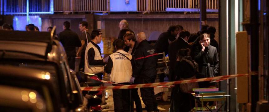 Sicherheitskräfte nach den Anschlägen in Paris Foto: picture alliance/dpa