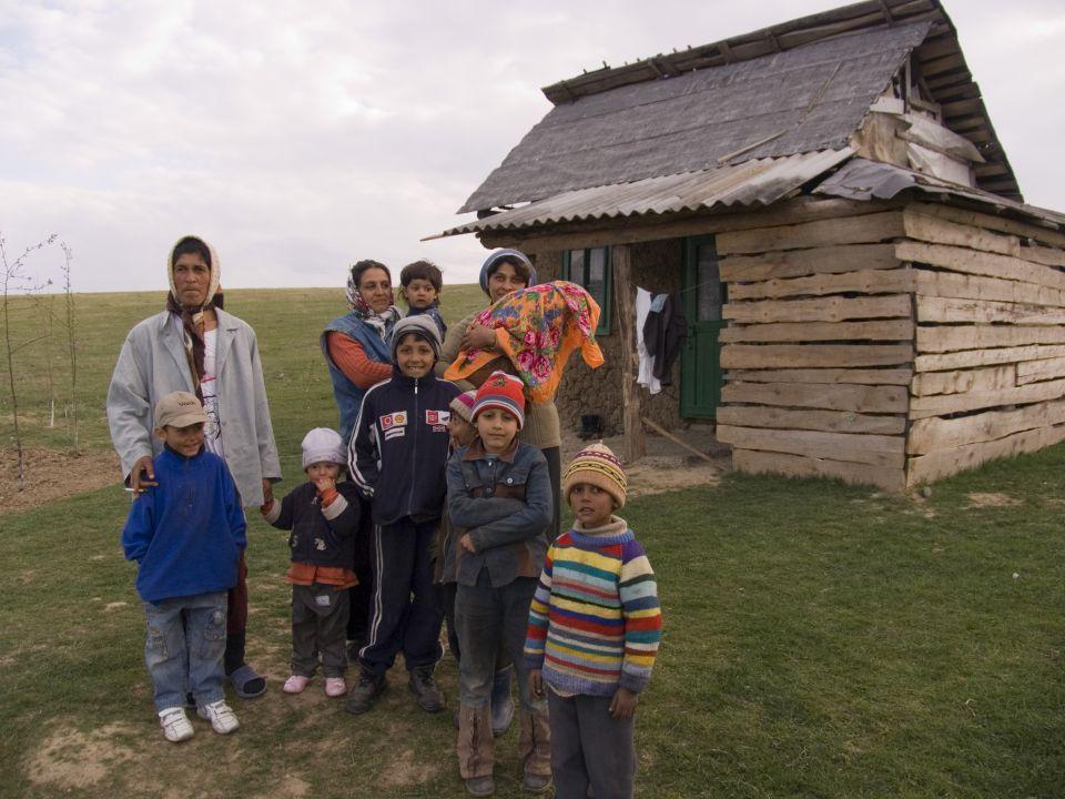 Zigeunerfamilie