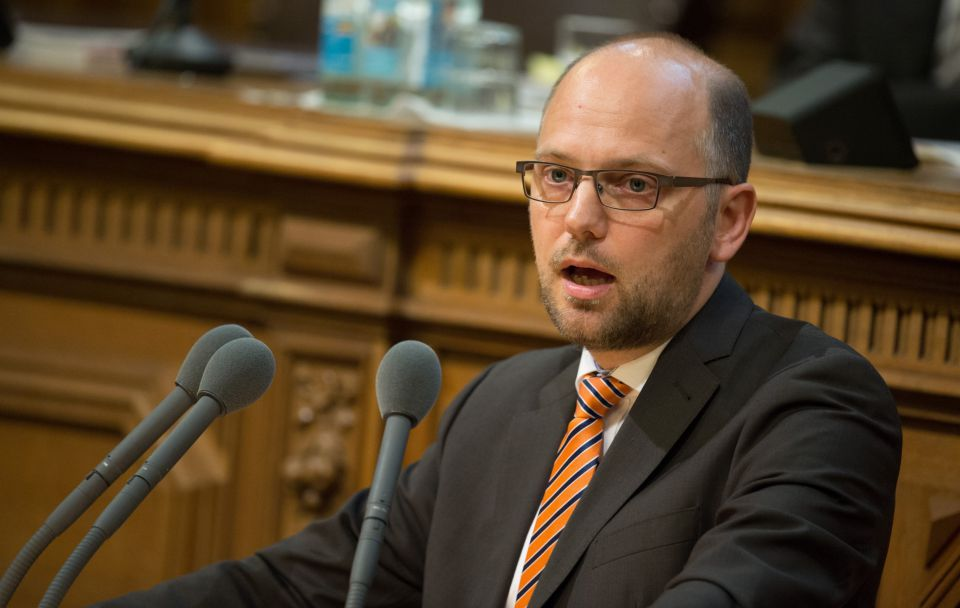 Justizsenator Till Steffen (Grüne)