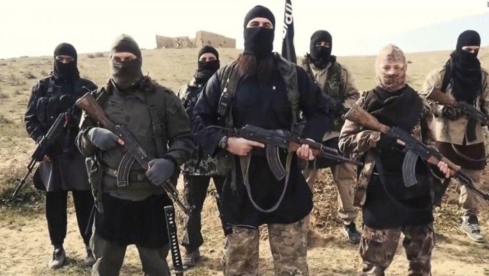 IS-Kämpfer in Syrien (November)