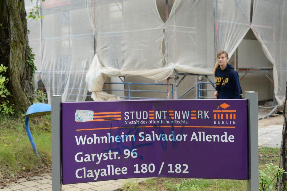 Studentenwohnheim Salvador Allende des Berliner Studentenwerks