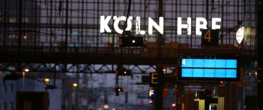 Hauptbahnhof in Köln: Alle bislang ermittelten Tatverdächtigen sind Ausländer Foto: dpa