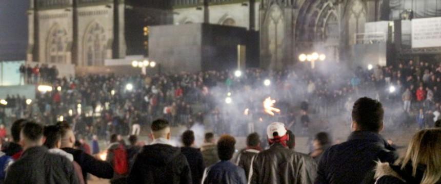 Köln am Silvesterabend: Wir stehen an der Schwelle zu einem Bürgerkrieg Foto: dpa