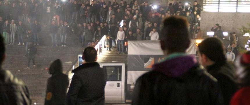 Kölner Hauptbahnof zur Silvesternacht: Kein Einzelfall Foto: dpa
