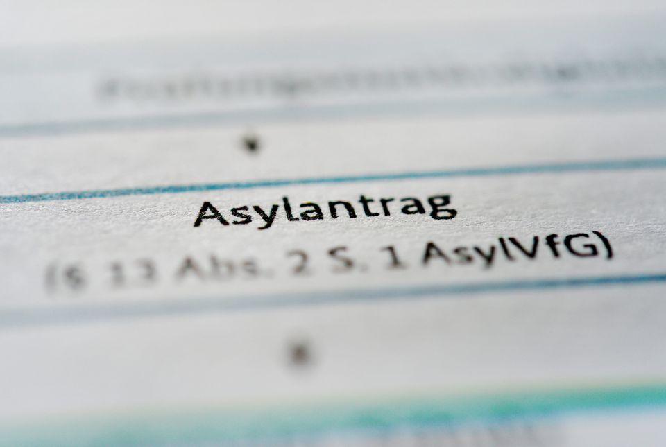 Asylantrag (Symbolbild)