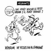 Karikatur aus der aktuellen Charlie-Hebdo-Ausgabe Foto: Charlie Hebdo