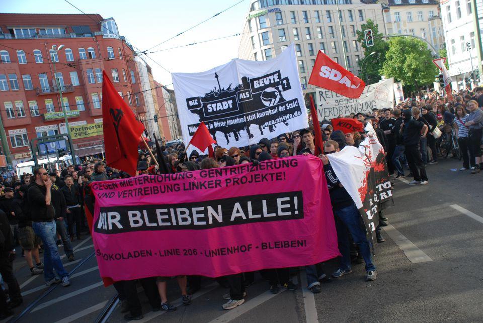 Linksextremiksten in Berlin