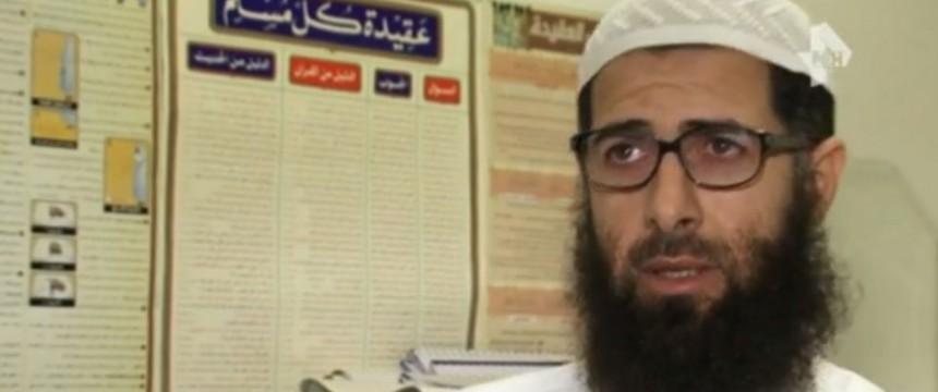 Sami Abu-Yusuf: Der Salafist macht die Frauen für die sexuellen Übergriffe an Silvester verantwortlich Foto: REN TV