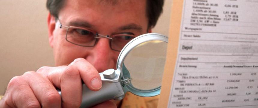 Symbolbild Kontoüberwachung: Immer mehr Abfragen durch den Staat Foto:  picture alliance/Arco Images