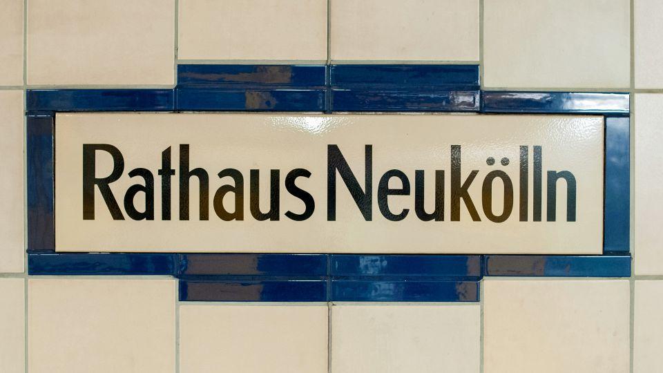 Schild Neukölln (Symbolfoto)