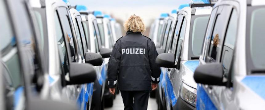 Polizistin in Mecklenburg-Vorpommern: Schwangere getreten Foto: dpa