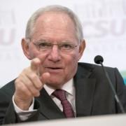 Wolfgang Schäuble: Nennt AfD Rattenfänger Foto: dpa
