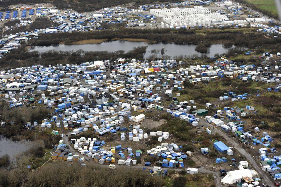 Asylcamp nahe Calais
