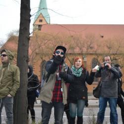 Linksextremisten: Angriffe auf Familien Foto: JF