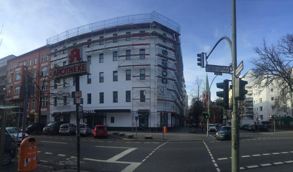 Das Domus Hotel in der Berliner Uhlandstraße gehört zur GCH Hotel Group Foto: Ronald Gläser