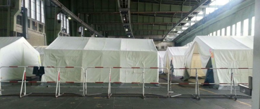 Asylunterkunft in Tempelhof: So schnell wird man zum Asylbewerber Foto: ShamsUl-Haq