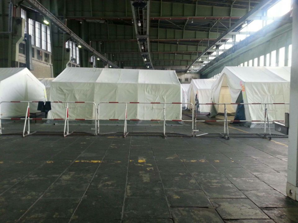 Asylunterkunft in Tempelhof