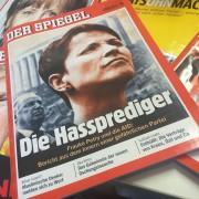 """Aktuelle Ausgabe des """"Spiegel"""" mit AfD-Chefin Frauke Petry Foto: JF"""