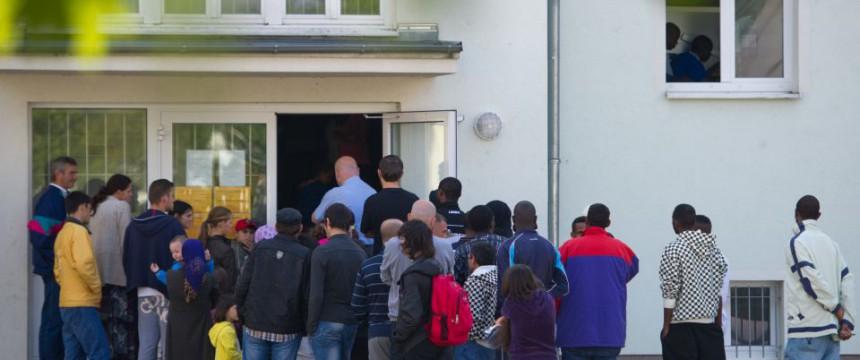 Asylbewerber in Brandenburg (Archiv): Fast 500 schwere Straftaten Foto: dpa