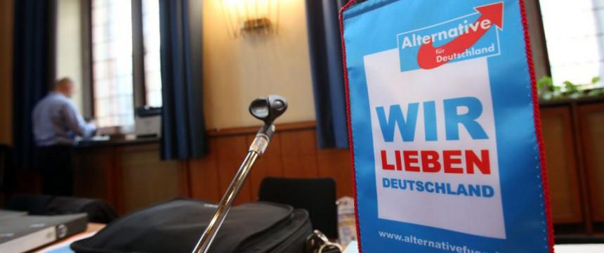 AfD-Logo: Die Programmdebatte wird die Partei prägen Foto: dpa