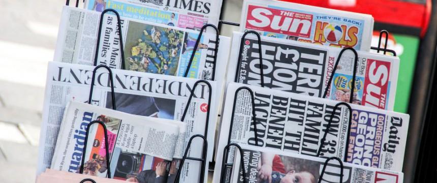 Zeitschriftenstand in London (Symbolbild): Neue politische Ordnung Foto:  picture alliance