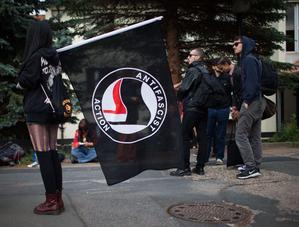 Linksextremisten in Freital (2015)