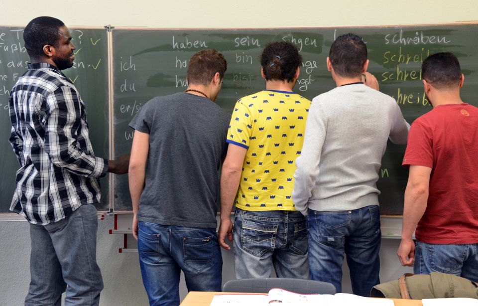 Deutsch-Kurs für Ausländer (Symbolbild)
