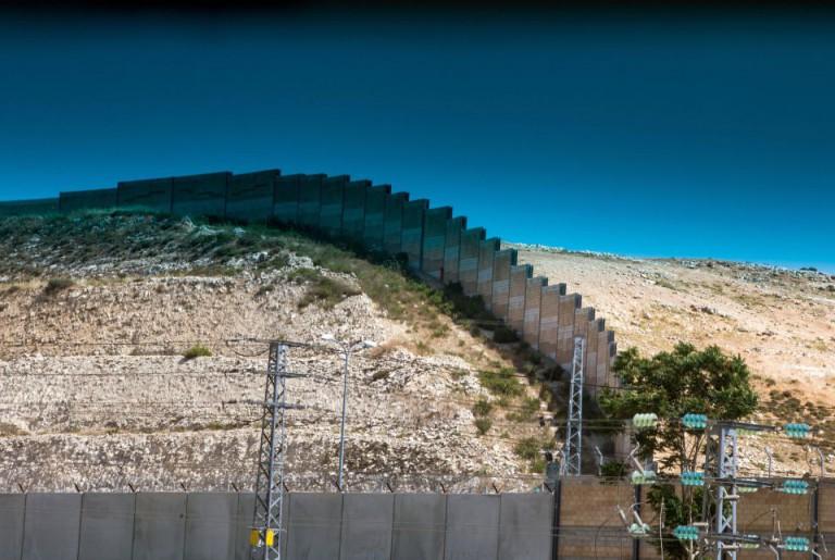 Sperrmauer zwischen Israel und dem Westjordanland