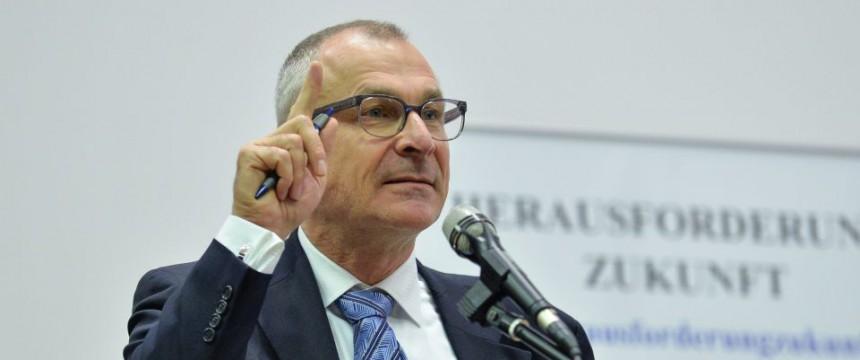 Volker Beck: Gerne mit erhobenem Zeigefinger Foto: dpa