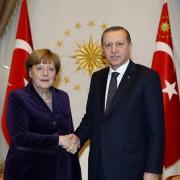 Bundeskanzlerin Angela Merkel beim türkischen Präsidenten Recep Tayyip Erdogan in Ankara Foto:  picture alliance / dpa
