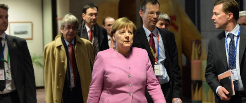 Bundeskanzlerin Angela Merkel auf dem jüngsten EU-Asylgipfel: Unbelehrbar und unbeirrbar Foto: picture alliance / AA