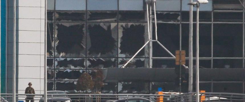 Flughafen: Terrorwelle erschüttert Brüssel Foto: dpa