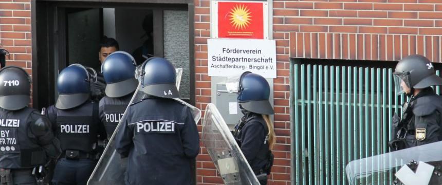 Polizeieinsatz gegen Kurden: CSU fordert Konsequenzen Foto: dpa