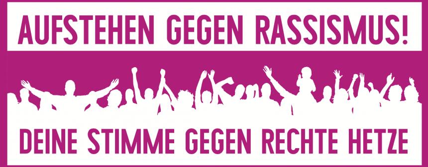 Aufruf zum Anti-AfD-Bündnis im Internet Foto: aufstehen-gegen-rassismus.de