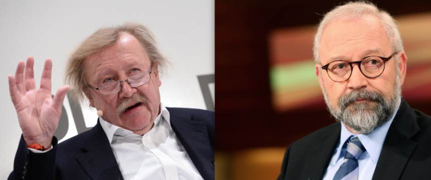Peter Sloterdijk (links) und Herfried Münkler Foto: picture alliance; Eventpress