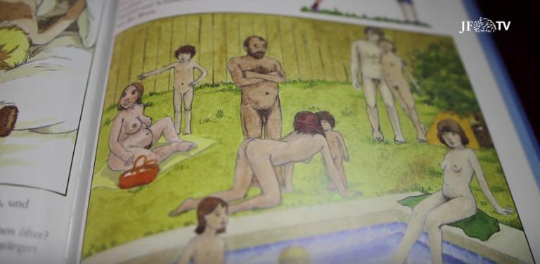 Ausschnitt aus einem Buch zur Frühsexualisierung