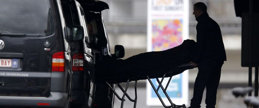 Todesopfer des Anschlags auf die Metrostation in Maelbeek Foto: picture alliance/dpa