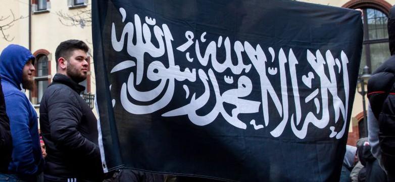 Kundgebung von Salafisten in Wuppertal Foto: picture alliance/Geisler-Fotopress