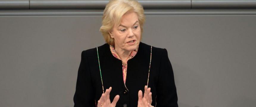 Erika Steinbach: Die CDU-Politikerin ist eine scharfe Kritikerin der Asylpolitik der Bundesregierung Foto: picture alliance/dpa